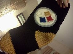 Pittsburgh Steelers Christmas Stocking with option of monogramming