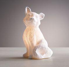 Fox Porcelain Nightlight - love this so much!  #rhbabyandchild #fallinlove
