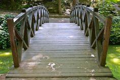 How to Build a Foot Bridge #stepbystep