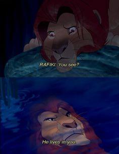 Lion King. Life changing movie.