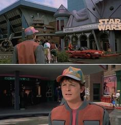 Marty McFly Is Bewildered By What He Sees In 2015