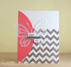 Have A Beautiful Day Card by Laurie Willison for Papertrey Ink (May 2014)
