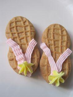 Flip flop Nutter Butters