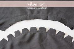 clipping vs. notching