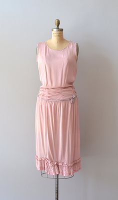 silk 1920s dress