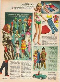 Francie...from the 1966 Sears Christmas catalog
