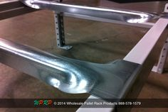 #MaterialHandling #TuesdayTip  When working with Structural Beams or Box Beams a Universal Front to Back Safety Bar is your solution when a step beam is not present. The unique design carries the same capacity of most standard step flanged safety bars. http://www.wprpwholesalepalletrack.com