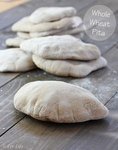 Homemade Whole Wheat Pita Recipe