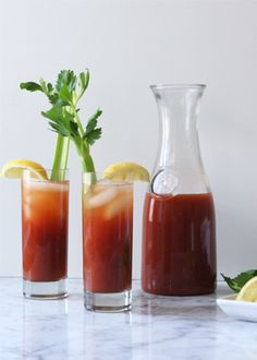 Make your own Bloody Mary mix