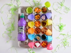 a pretty cool life.: Easter bento snacks