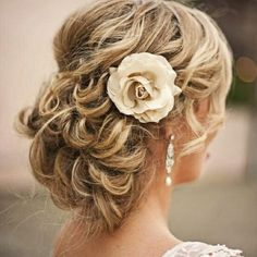 Maid of Honor hair? If she so chooses ;)