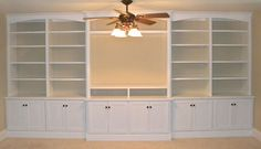 Entertainment Centers with Bookshelves | Built-in entertainment center/bookshelves - eclectic - family room ...