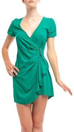 80's Wrap Dress by Twelfth Street