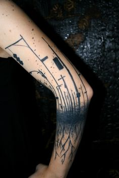 abstract tattoo 8