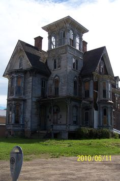 Knox House Old Hickory coudersport pa - Google Search houses, houseold hickori, hickori coudersport, italian villa style home, knox houseold, place, abandon, coudersport pa