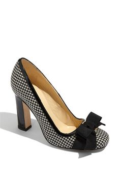 Houndstooth Pumps