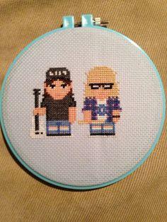 Waynes World Cross Stitch! Hilarious!