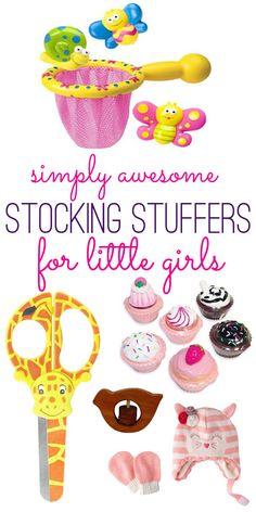 Great stocking stuffer ideas for little girls