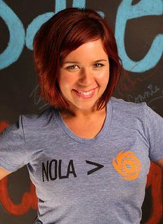"This NOLA > Hurricane shirt is the flagship piece to Evacuteer.org's ""Safe City : Strong City"" capital fundraising campaign. The non-profit organization seeks $112,000 of private donations and sponsorships to deliver programing that will reduce the amount of carless New Orleanians thinking of riding out the next mandatory evacuation.  Fleurty Girl is proud to donate $5 for every shirt sold to Evacuteer.org.  For more information go to www.evacuteer.org/donate.  Printed on American Apparel."