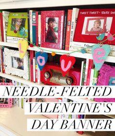 Needle felted Valent
