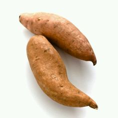 Sweet potatoes for the pancreas Here's why: Pancreas-shaped sweet potatoes release sugars gradually into the bloodstream. That means they don't stress the organ, which helps regulate blood-sugar levels.