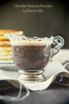 Chocolate Pancake Syrup,