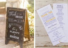 event idea, chalkboard sign, wedding signs
