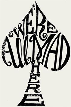 tattoo ideas, cheshire cat, quotes, mad, tattoos, alice in wonderland, a tattoo, aliceinwonderland, ink