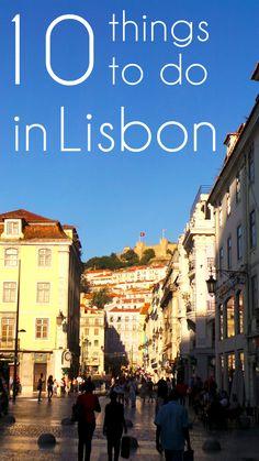 Budget Citytrip: 10 Things To Do in Lisbon passport destin, 10 thing, lisbon travel, european adventur, lisbon things to do, things to do in lisbon
