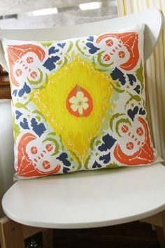 Cabo Pillow, by Leah Duncan