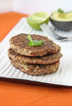 Southwest Quinoa Patties