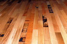 recycled whisky barrel hardwood floors