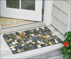 stone door mat