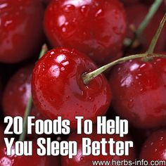 20 Foods To Help You