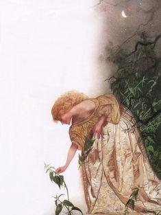 Picking Nettles, Fairy Tales: Hans Christian Andersen by Nadezhda Illarionova