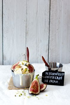 A Swoonful of Sugar » passionfruit cheesecake ice cream
