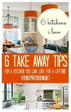 Design a kitchen you will love for a lifetime with tips I used for two kitchen remodels! It doesn't take a ton of money, just an eye for detail and an understanding of what you love. Once you can define what you love, you can translate it into a kitchen of your dreams even on a budget.