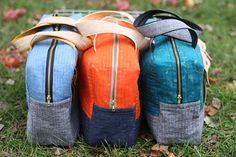 Free Tuto  pattern Botanics Cargo Duffles bags