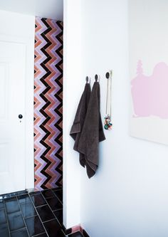 15x30 and 5x15 cm cotto tiles from The Made a Mano Pop Collection. Photographer Tia Borgsmidt Rasmussen.