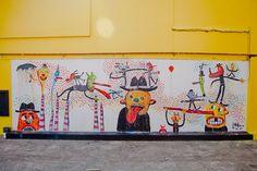 Mural en Ciudad Konex-