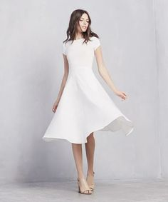 13 white T-shirt dresses to crush on this spring