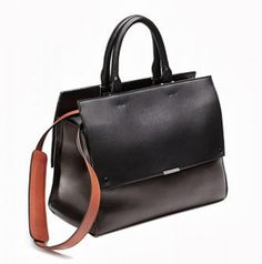 Victoria Beckham dark chocolate fall 2013 handbag
