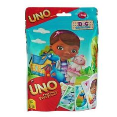Amazon.com: Disney Doc McStuffins Kids Uno Card Game in Foil Bag: Toys & Games