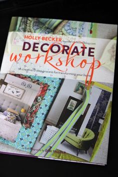 Uber-blogger and RSG favourite Holly Becker is back this month with the follow up to her hugely successful debut book 'Decorate'. Holly's second helping, 'Decorate Workshop', adopts the same style and tone that has made her blog, decor8, such a huge hit.