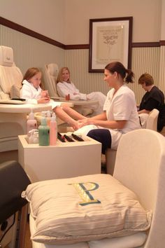 Enjoy some special mother-daughter time at The Spa at Pinehurst.
