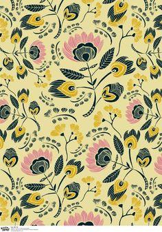 Gorgeous gift wrap design by Leah Duncan (via Print & Pattern)