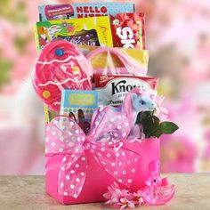 Easter Treats  Easter Gift Basket. from Design It Yourself Gift Basket