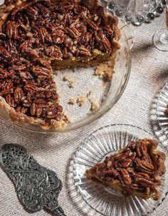 Pumpkin Bourbon Pecan Pie - #thanksgiving Sweet Paul Holiday 2012