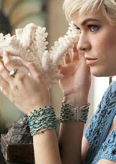 Ravelry: #06 Bracelets pattern by Karen Stahlecker