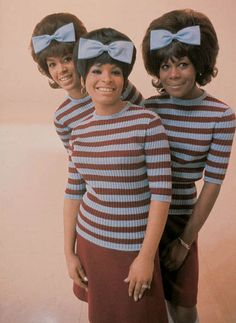"December 11, 1961: Sixteen-year-old Gladys Horton (right) and the Marvelettes deliver the first Motown number one hit, ""Please Mr. Postman."" The song reaches number one on this date."